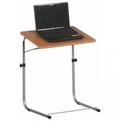 Állítható magasságú laptopasztal, bükkfa  - TOM